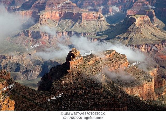 Grand Canyon National Park, Arizona - Early morning clouds in the Grand Canyon