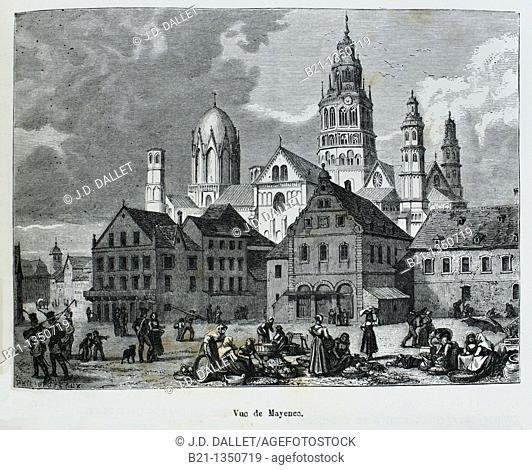 Mainz, Germany (19th century)