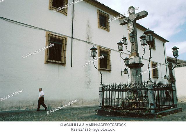 Cristo de los Faroles'Square in Cordoba. Andalusia. Spain