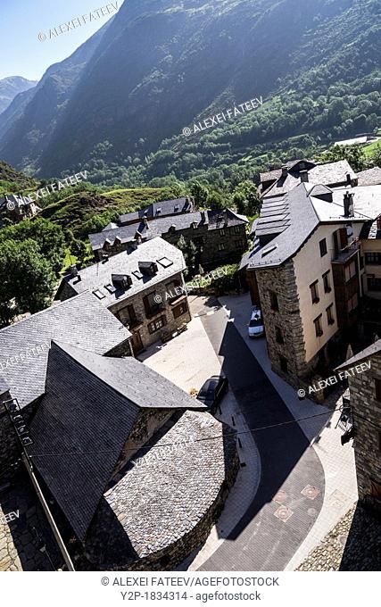 Erill la Vall village in Vall de Boí, Catalonia, Spain