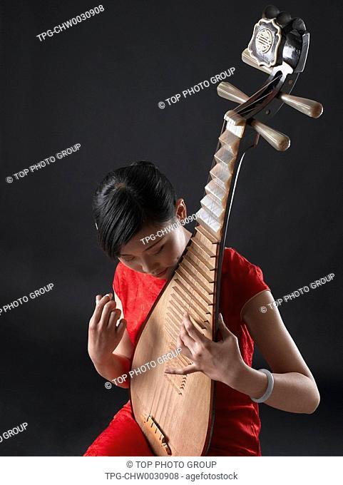 Plucking An Instrument