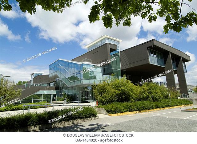 Langara College library building, Vancouver, BC, Canada