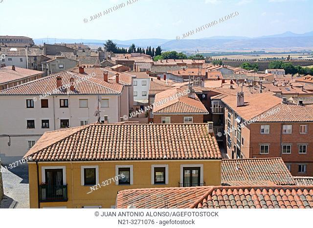 A neighbourhood in Avila, Castilla-Leon, Spain, Europe