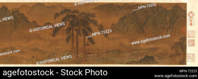 金 傳楊邦基 聘金åœ- å·»/A Diplomatic Mission to the Jin. Artist: Attributed to Yang Bangji (Chinese, ca. 1110-1181); Period: Jin dynasty (1115-1234);...
