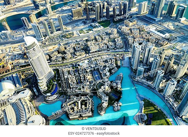 Dubai City ViewDowntown district, UAE