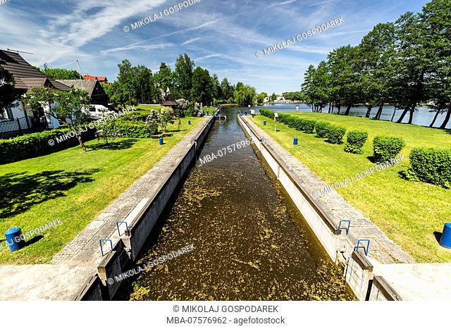 Europe, Poland, Podlaskie Voivodeship, Augustow - Augustow Canal