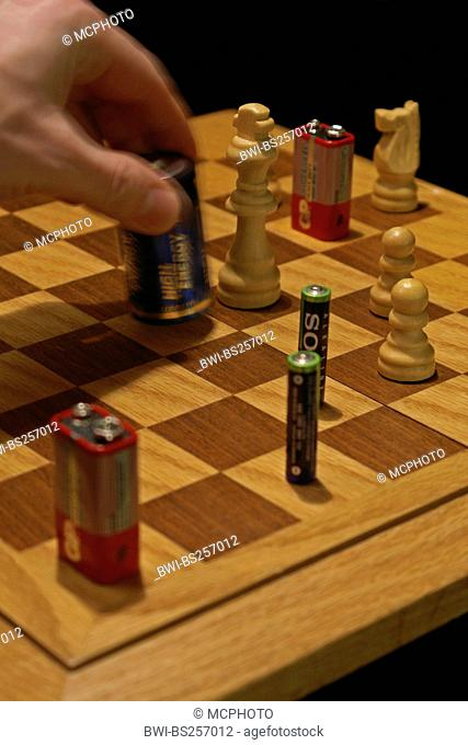 chess with batteries