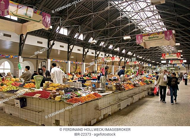 GUS Russia St Petersburg 300 years old Venice of the North Vladimirskaya Square with Kuznechny Market for every kind of Food Fruits Vegetables Meat Milkproducts...