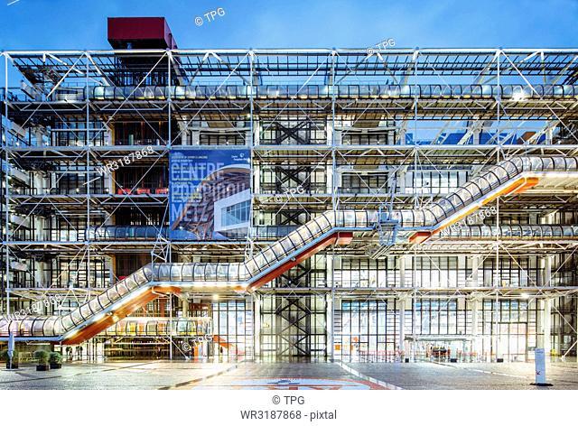 Le Centre Georges-Pompidou; Paris; France