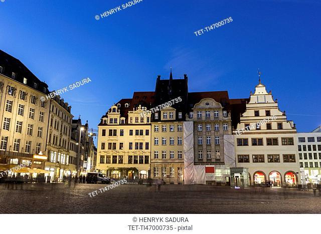 Marktplatz at night