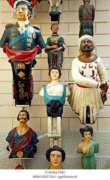 Museum, exhibition, figurehead, navigation