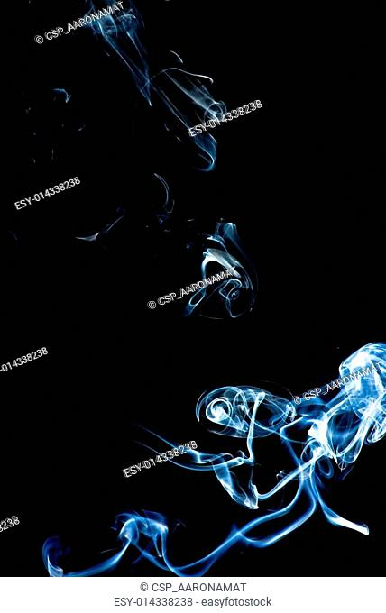 smoke texture on white background
