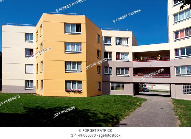 RESIDENCE DES MARGUERITES, SUBSIDIZED HOUSING IN THE CITY OF CHERBOURG, FRANCE