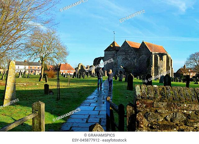 Parish Church of St Thomas the Martyr Winchelsea, East Sussex, UK
