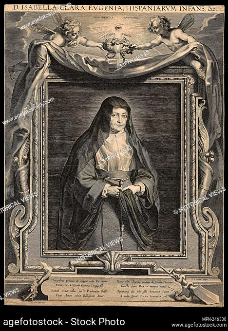 Isabella Clara Eugenia (1566-1633) - 1625/33 - Paulus Pontius (Flemish, 1603-1658) after Peter Paul Rubens (Flemish, 1577-1640) - Artist: Paul Pontius
