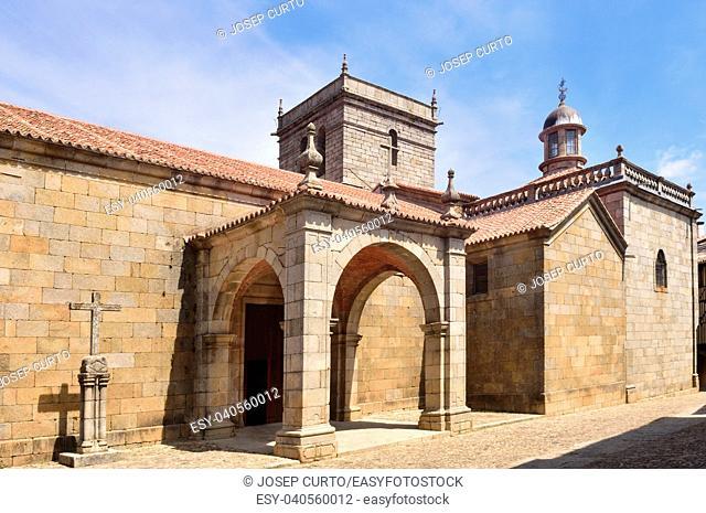 La Asuncion church, La Alberca, Salamanca province,Castilla-Leon, Spain