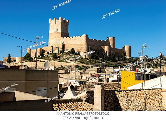 Castle, Villena, Valle del Vinalopó, Alicante province, Comunidad Valenciana, Spain