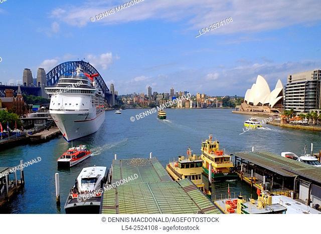 Sydney Harbour Bridge Australia New South Wales AU