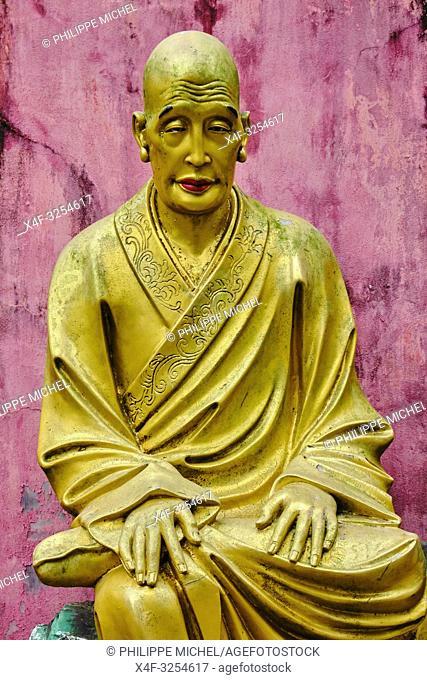 China, Hong Kong, Kowloon, monastère des dix mille Bouddhas, / China, Hong Kong, Kowloon, Ten Thousand Buddhas Monastery