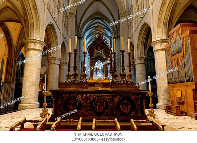 Altar of St. Michael and St. Gudula Cathedral