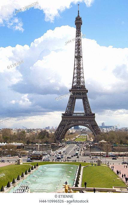 Paris, tour Eiffel, Eiffel Tower