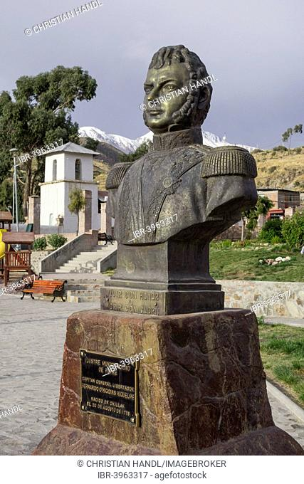 Monument to Bernardo O'Higgins Riquelme, Putre, Arica y Parinacota Region, Chile