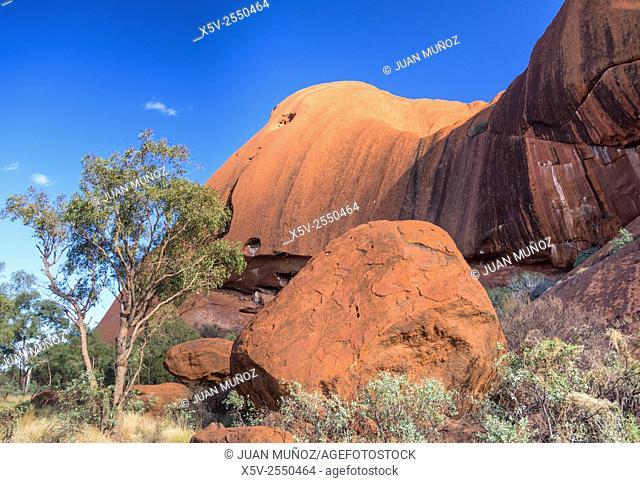 Uluru. Ayers Rock. Uluru-Kata Tjuta National Park. Northern Territory. Australia
