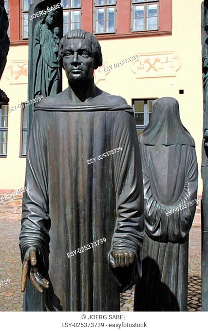 the thomas müntzer monument in stolberg