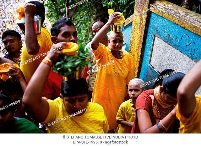 thaipusam hindu festival, batu caves, kuala, lumpur, malaysia