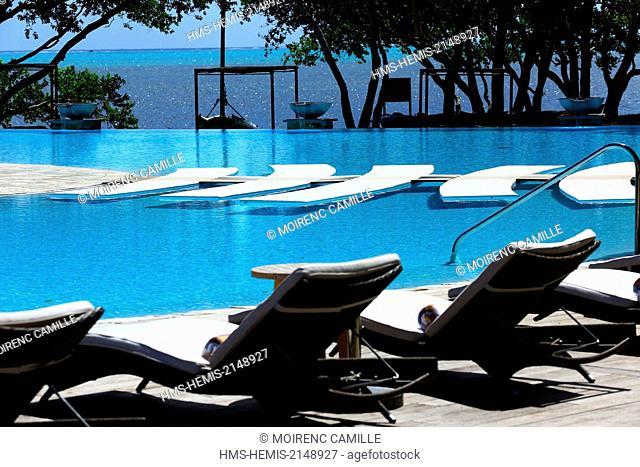 France, New Caledonia, Grande-Terre, Southern Province, Bourail, Sheraton Hotel, Compulsory mention: Sheraton (Hotel Restaurant)