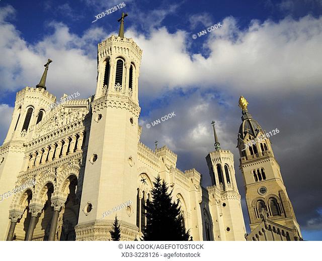 Notre Dame de Fourviere Basilica, Lyon, France
