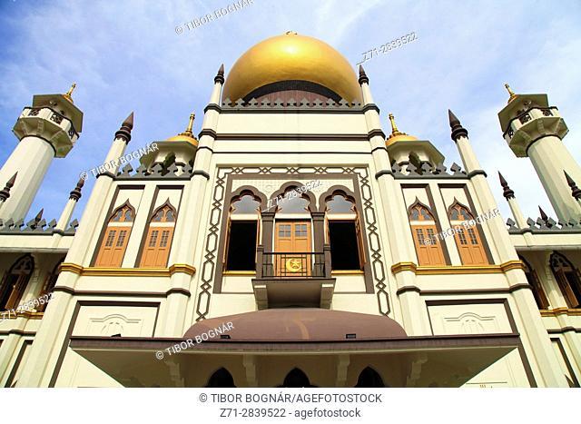 Singapore, Arab Quarter, Sultan Mosque,