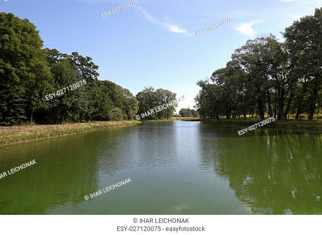 the territory on which there is a swamp, the summer season of the year end, Belarus