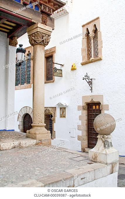Palace Maricel, Barcelona Province, Barcelona, Catalonia, Spain, Western Europe