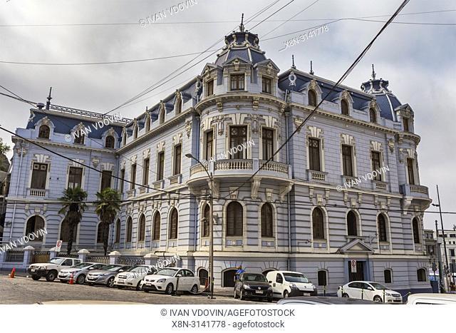 Armada de Chile building (1910), Valparaiso, Chile