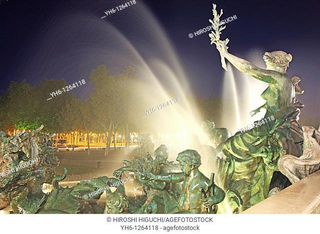 France, Bordeaux, Monument aux Girondins
