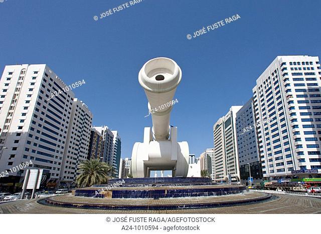 United Arab Emirates January 2010 Abu Dhabi City Heritage Park , the Canon