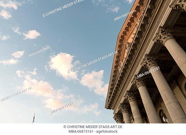 Bavarian State Opera, Munich, facade