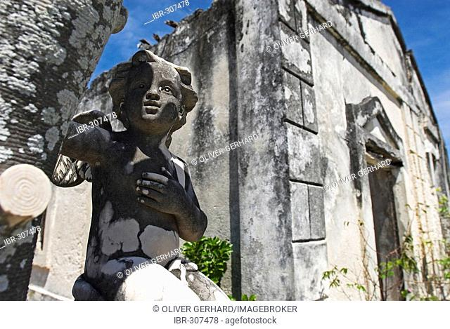 Historic Cemetery of Ibo Island, Quirimbas islands, Mozambique, Africa