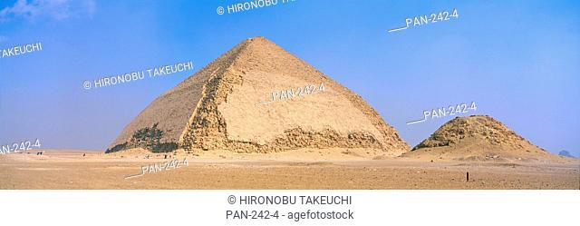 The Bent Pyramid, Il-Haram Il-Munhani, Dahshur, Egypt