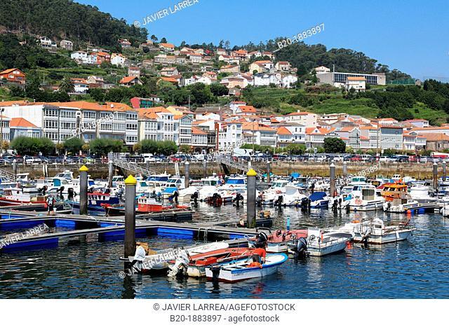 Darsena, Muros, Ria de Muros e Noia, A Coruña province, Galicia, Spain