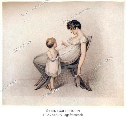 'I Could Not Learn My Book Mama', c1810. Artist: Adam Buck