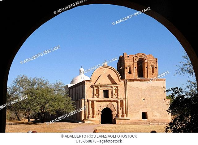 Mission San Jose de Tumacacori National Historic Park, Tumacacori, Arizona, United States