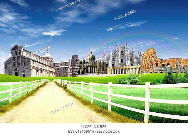 Italy landmarks