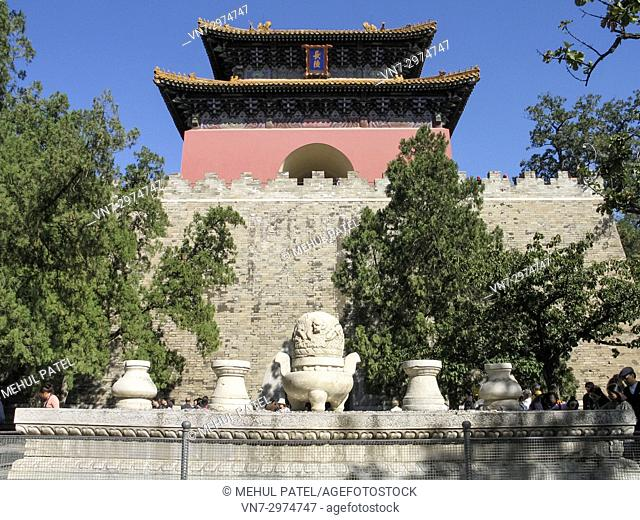 Ming Tombs, Dingling Tomb, Beijing, China, Asia