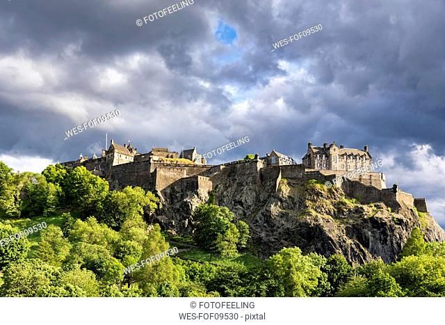 Great Britain, Scotland, Edinburgh, Castle Rock, Edinburgh Castle