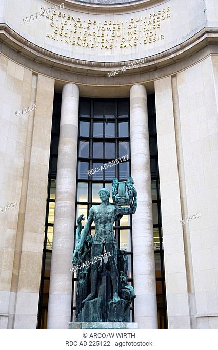 Palais de Chaillot, Paris, France