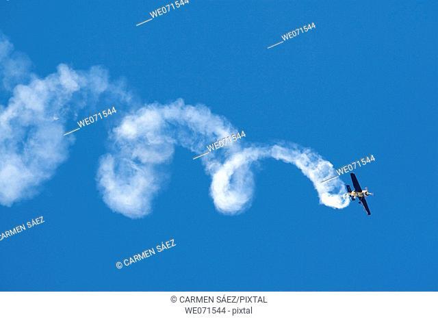 Air show, Armilla. Granada province, Andalucia, Spain