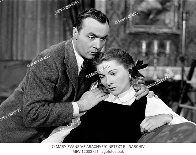 Charles Boyer & Joan Fontaine Characters: Lewis Dodd, Tessa Sanger Film: The Constant Nymph (1948) Director: Edmund Goulding 23 June 1943 Liebesleid (The...