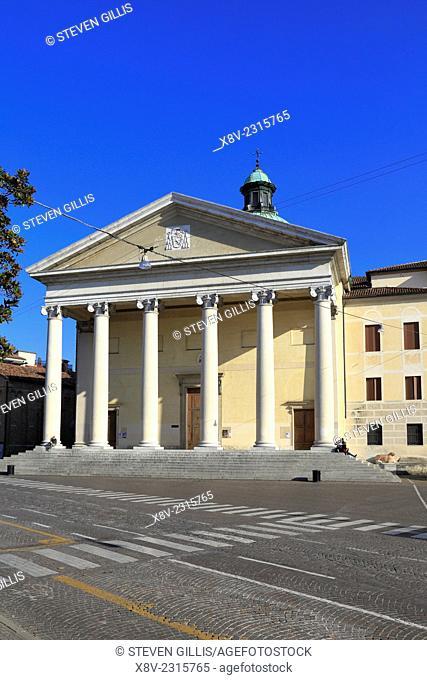 Treviso Cathedral, Piazza del Duomo, Treviso, Italy, Veneto,